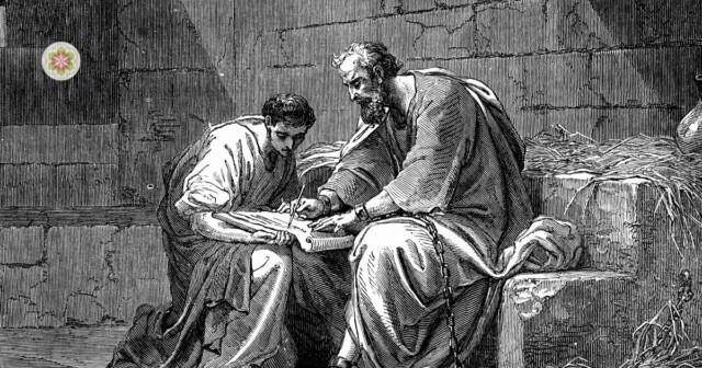 Paulus de apostel in de gevangenis