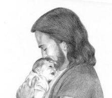 Jezus en kind