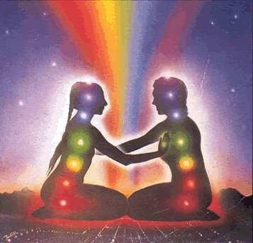 chakra's vrouw en man