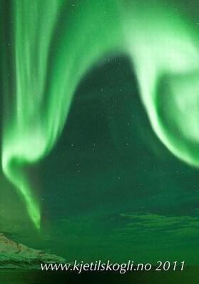 Noorderlicht gemaakt door de Zonnewinden