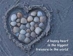 de positieve energie van het hart