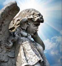Engel-blauwe-lucht