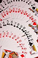 kaarten op tafel