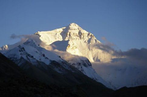 Gletsjer op Qomolangma