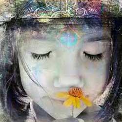 jongen bloem