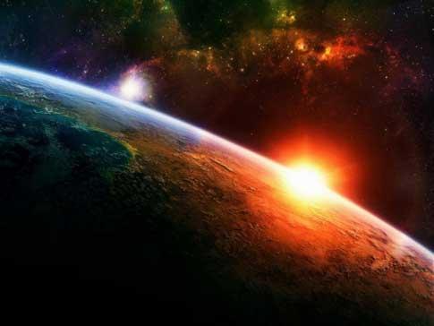 kosmische aarde