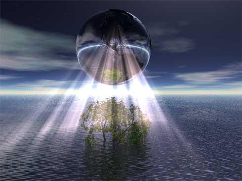 aarde verlicht