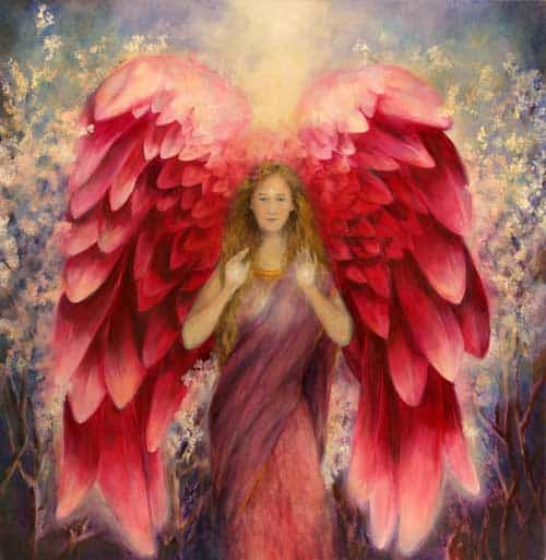 Afbeelding Vrouw (engel)