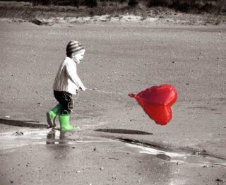 kind en vlieger