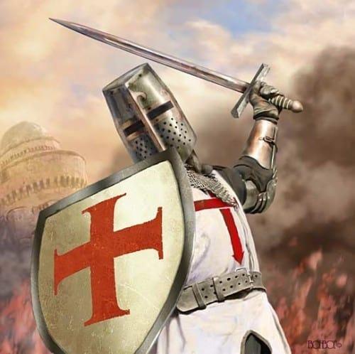 de kruisvaarder
