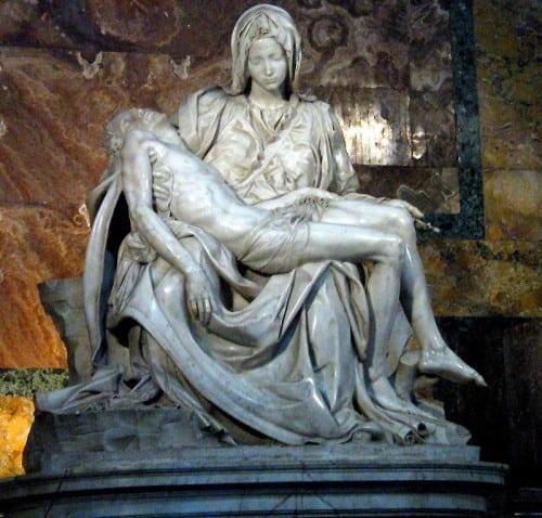 Michelangelo - Maria Magdalena en Jezus - Pieta
