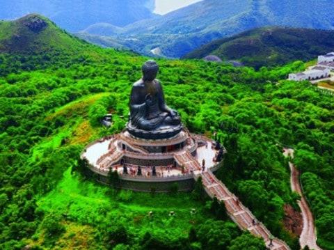 Buddha-op-Lantau-Eiland-Hong Kong