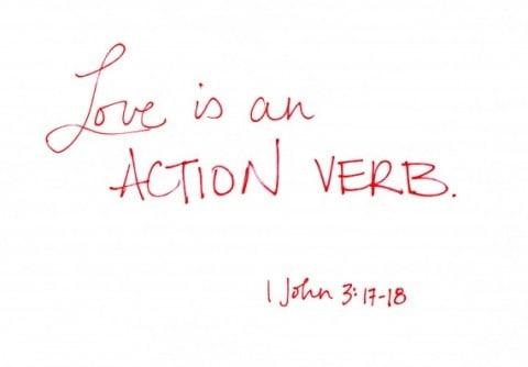 liefde is een werk woord