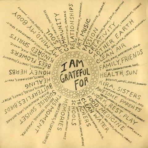 dankbaar voor...