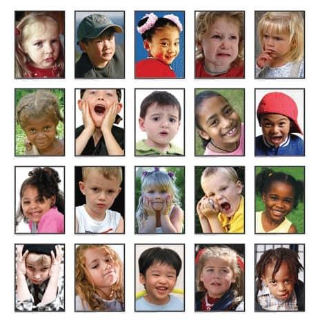 emoties van kinderen