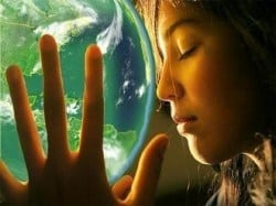 vrouw-aarde