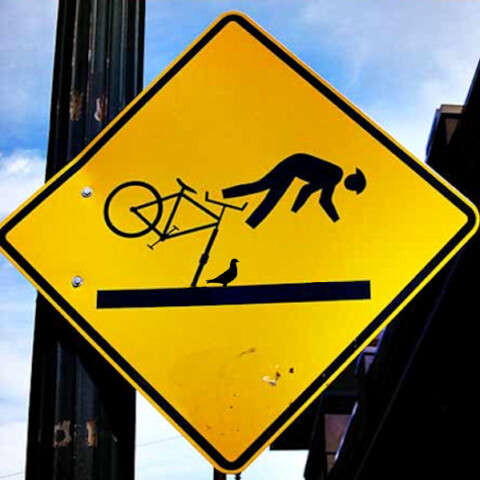 fiets ongeluk