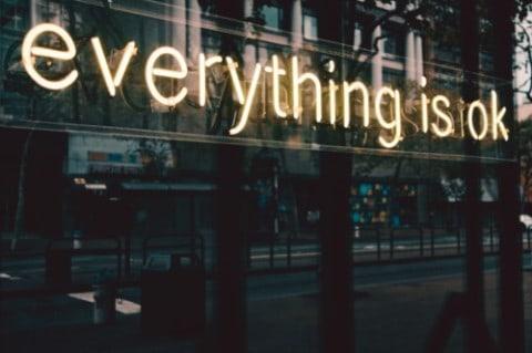 alles is goed zoals het is