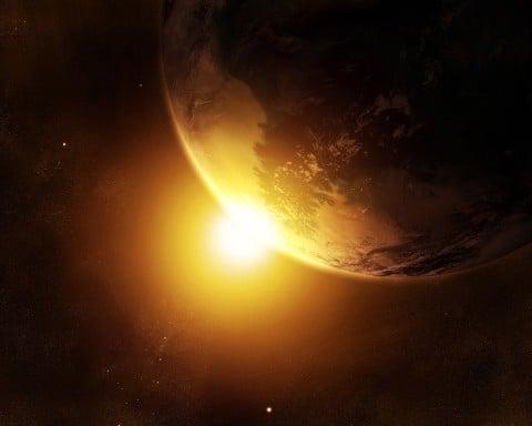 aarde-zon