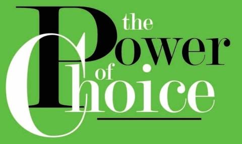 de kracht van de keuze