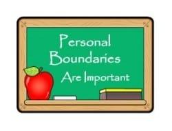 persoonlijke grenzen