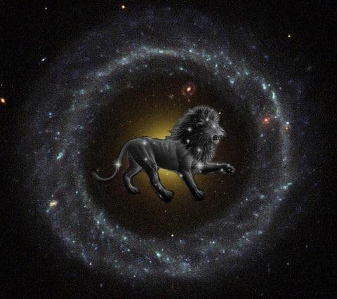nieuwe maan in leeuw