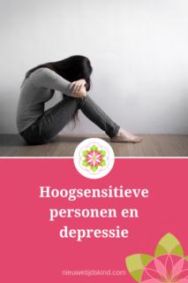 Hoogsensitieve personen en depressie