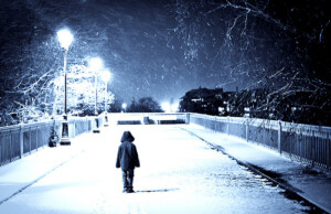 begaafd kind-alleen