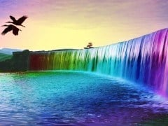 water-gekleurd