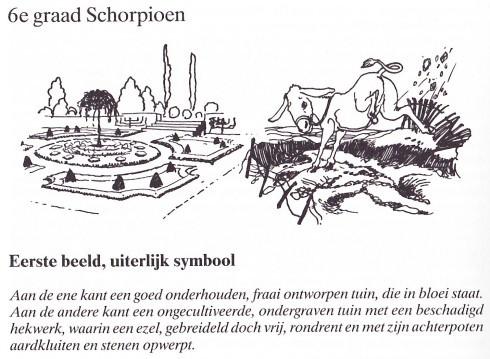 Beeld 6de graad Schorpioen, boek Koppejan