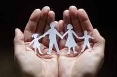 het nieuwetijdskind -gezin