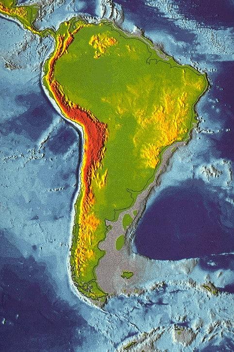 Andes-en-Zuid-America