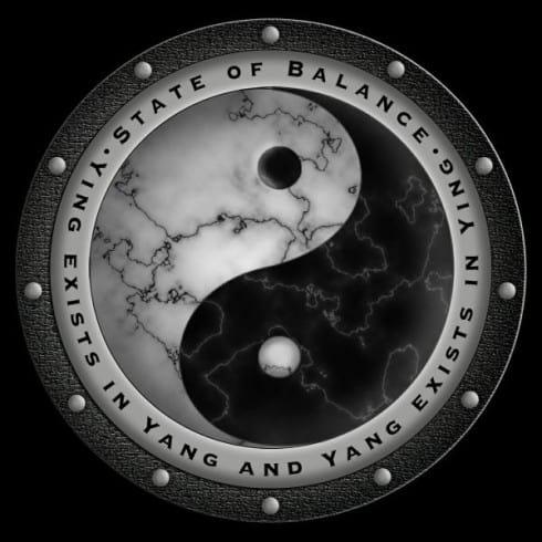 Yin Yang Medallion