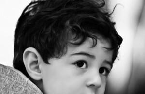 gevoelige jongen