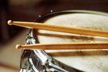 Percussie met stokjes