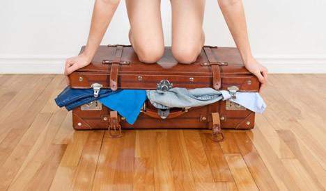 minder bagage mee