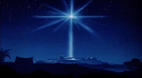De gnostiek van de kerststal- ster-van-bethlehem