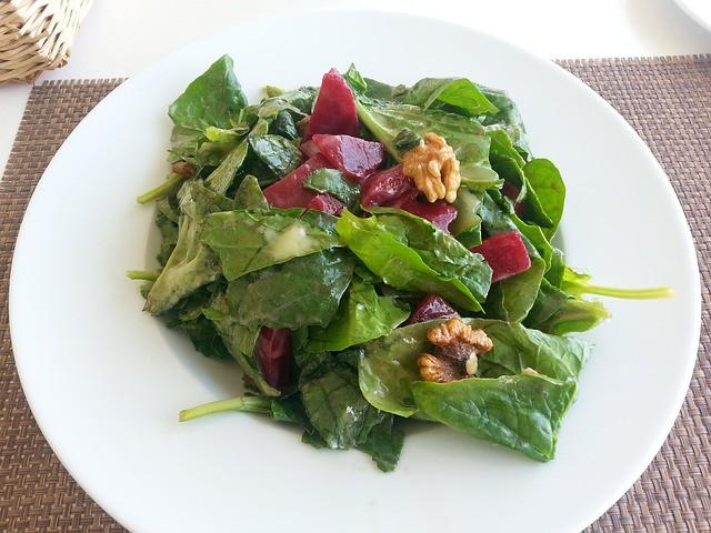 Groene groenten bevatten veel magnesium