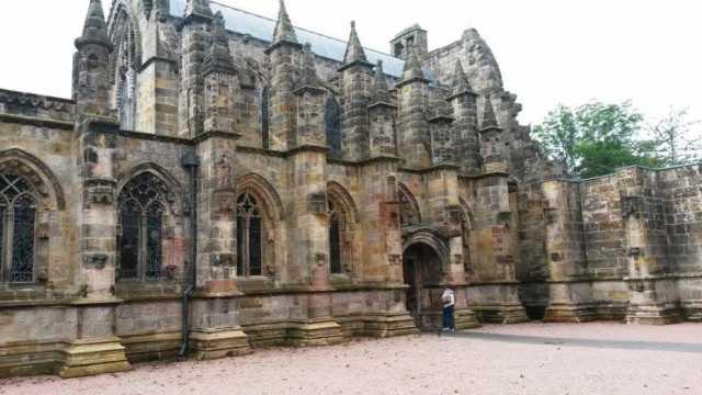 The Rosslyn Chapel, Edinburgh