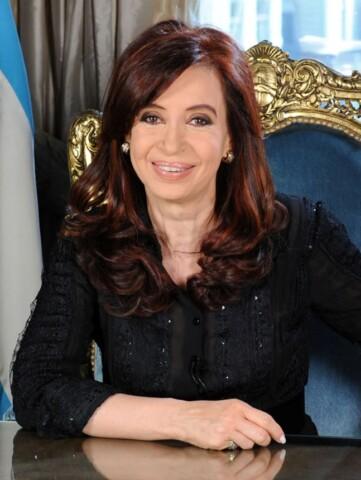 Cristinakirchnermensaje2010