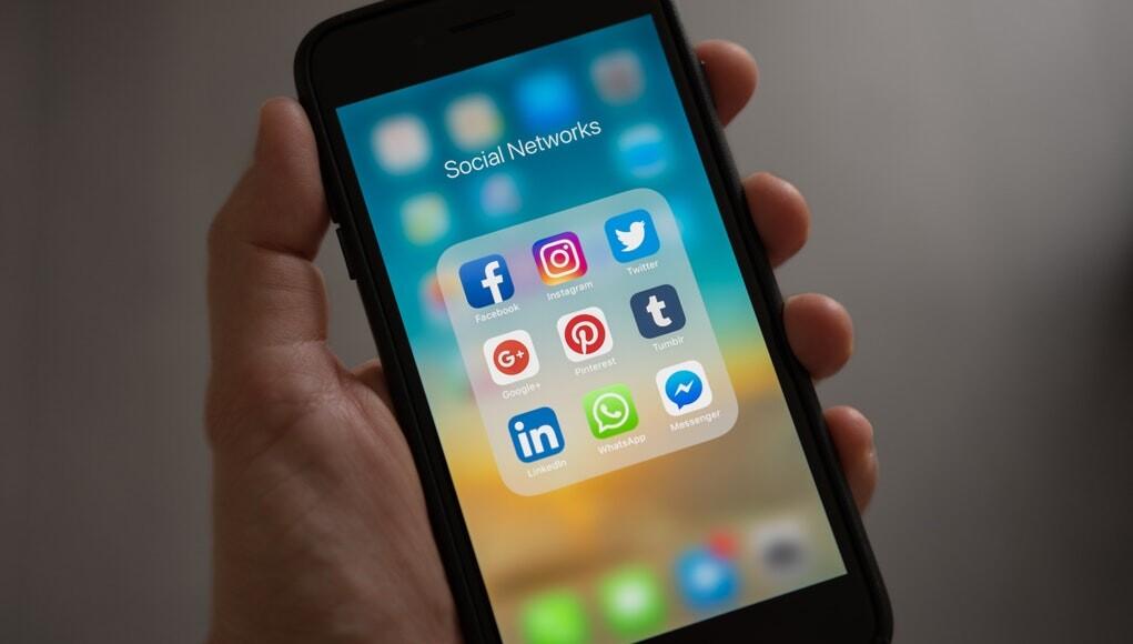 blauw licht van je smartphone