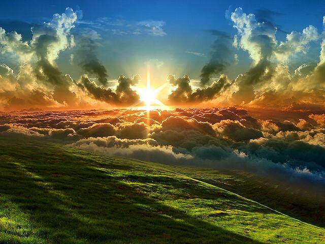 de verbinding tussen hemel en aarde