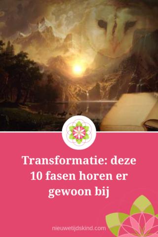 Transformatie: deze 10 fasen horen er gewoon bij