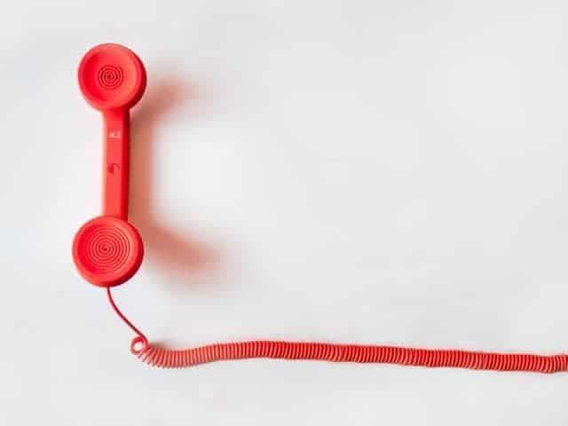 De Domme Telefoonbeweging