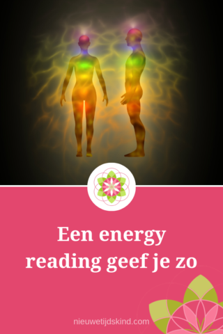 Een energy reading geef je zo