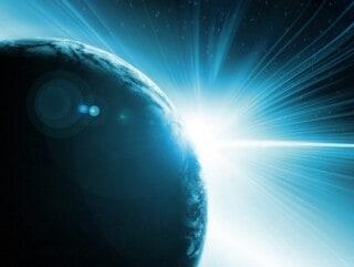 geboorte van licht op aarde