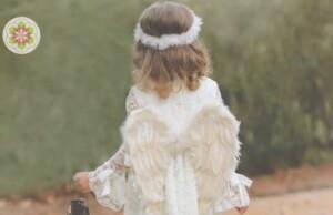 Engelen de dood van een 5-jarige en gelukkig zijn