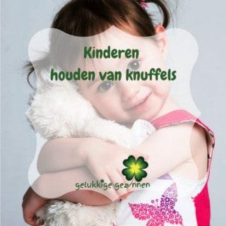 Kinderen houden van knuffels