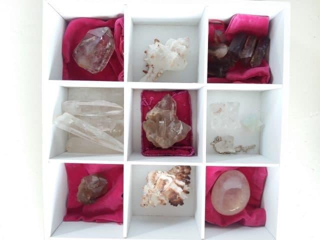 Creatief met kristal - maak een kristaldoos.