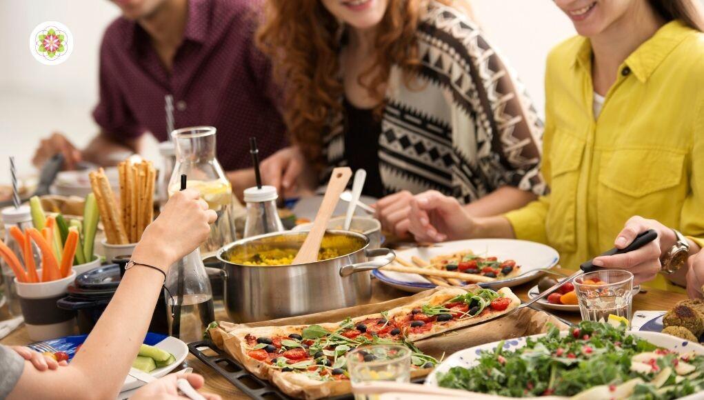 Het belang van een rustige maaltijd